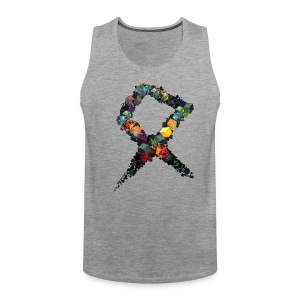 Rune on a Tshirt - Men's Premium Tank Top