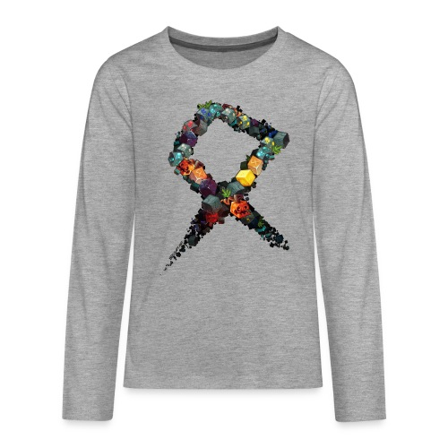 Rune on a Tshirt - Teenagers' Premium Longsleeve Shirt