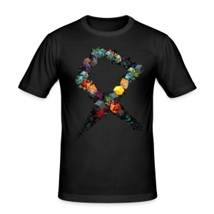 Rune on a Tshirt - Men's Slim Fit T-Shirt