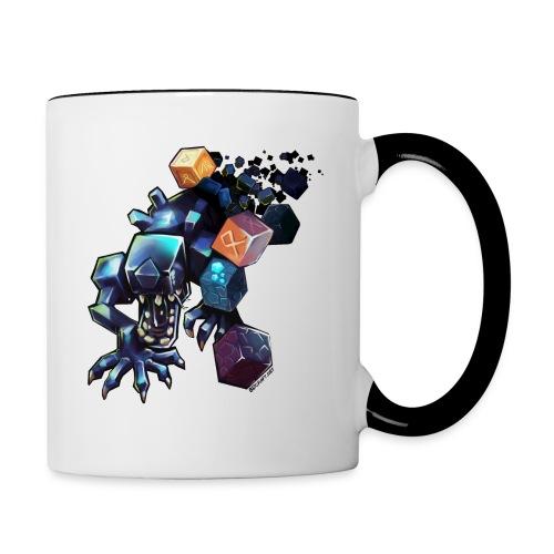 Alien on a Mug - Contrasting Mug