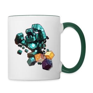 Golem on a Mug - Contrasting Mug