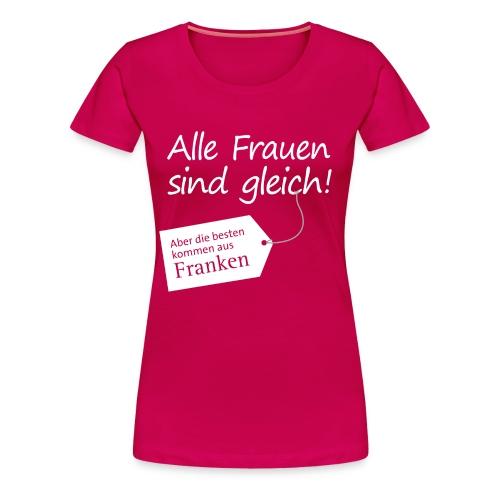 Frauen mit Anhänger - Frauen Premium T-Shirt