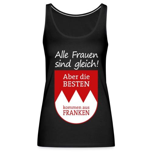 Tank Top mit Wappen und Spruch - Frauen Premium Tank Top