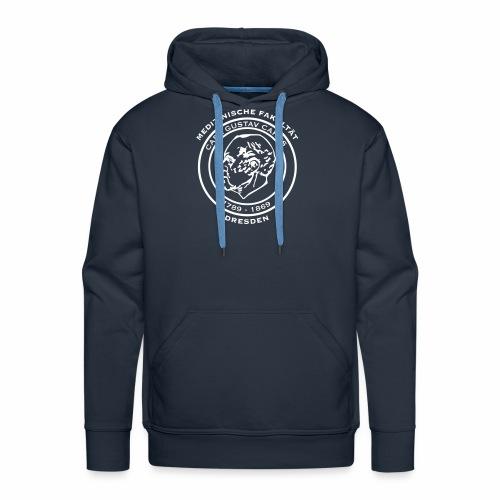 Carl Gustav Carus - Basic Kapuzenpulli für Jungs (weißes Logo) - Männer Premium Hoodie