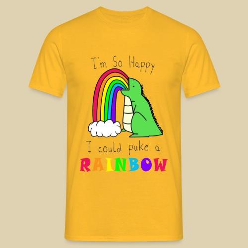 I Could Puke A Rainbow - Men's T-Shirt