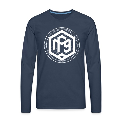 Hexagon Longsleeve Shirt - Men's Premium Longsleeve Shirt