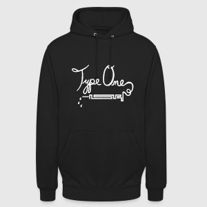 Type One Diabetes - Needle Design - White Hoodies & Sweatshirts - Unisex Hoodie