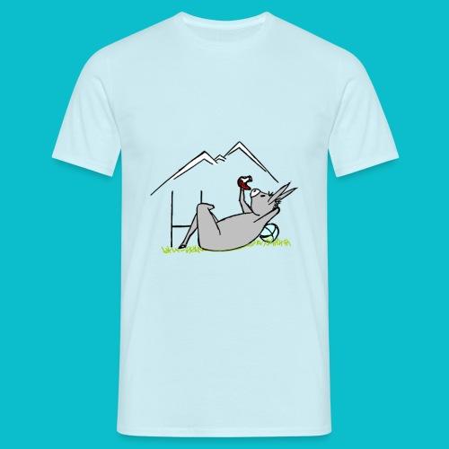 farniente de l'âne catalan - T-shirt Homme