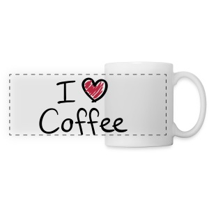 Mug i love coffee - Tasse panorama