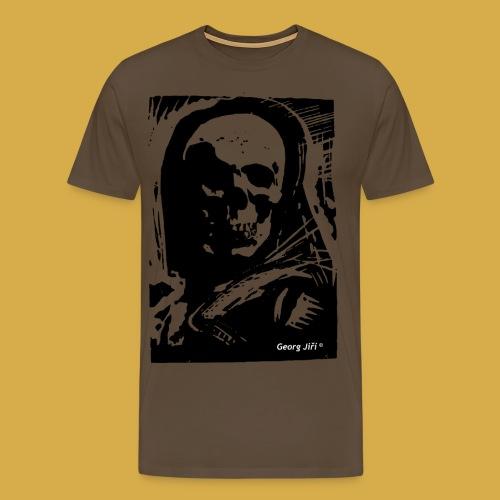 Der Tod mit Umhang und Patronengurt - Männer Premium T-Shirt