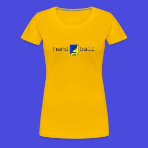 TSV Ladies Tee hand-tsv-ball - Frauen Premium T-Shirt