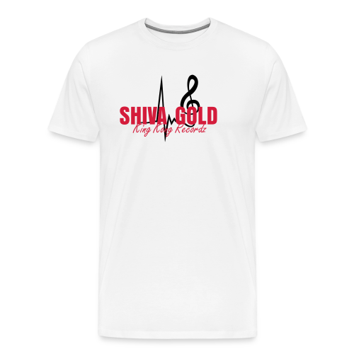 SHIVA GOLD OFFICIAL FAN SHIRT  - Männer Premium T-Shirt