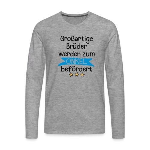 Großartige Brüder 03 Langarmshirts - Männer Premium Langarmshirt