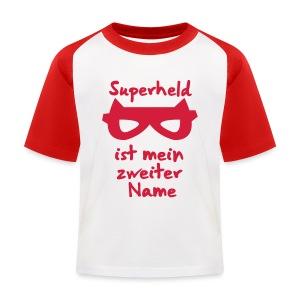 Superheld T-Shirts - Kinder Baseball T-Shirt