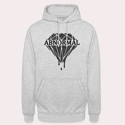 Abnormal Diamond Hoodie (Black Logo) - Unisex Hoodie