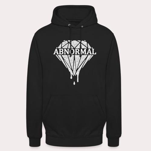 Abnormal Diamond Hoodie (White Logo) - Unisex Hoodie