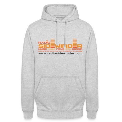 Unisex Grey Radio Sidewinder Hoodie - Unisex Hoodie