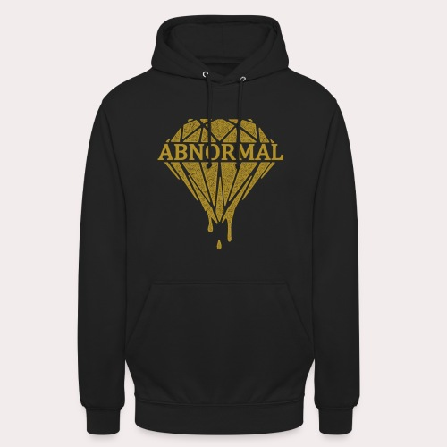 Abnormal Diamond Hoodie (Gold Logo) - Unisex Hoodie