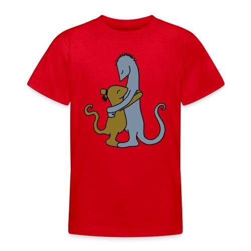 Die Umarmung - Teenage T-Shirt