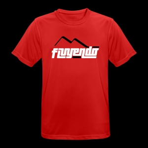 Fluyendo Riding Jersey - Team Red - Men's Breathable T-Shirt