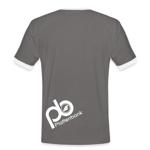 Plattenbank Back - Men's Ringer Shirt