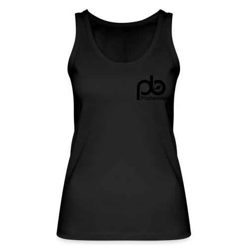 Plattenbank Lady Organic Top Heart - Women's Organic Tank Top by Stanley & Stella
