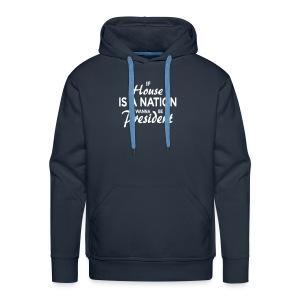 If House Is A Nation // Men - navy  - Männer Premium Hoodie