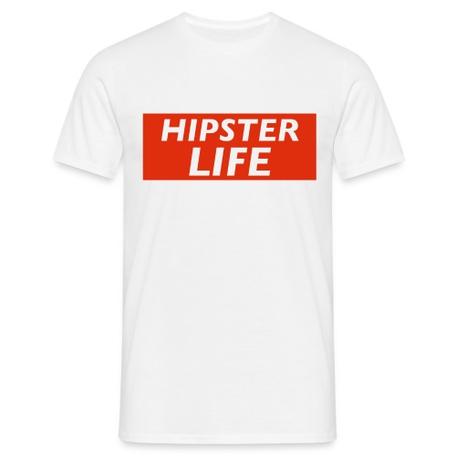 Hipster LIFE - Tee-Shirt Homme Light - T-shirt Homme