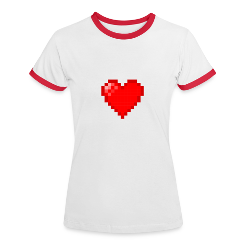 Voxel Records Ringer Tee - Women's Ringer T-Shirt