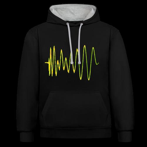 Voxel Records BOOM hoodie - Contrast Colour Hoodie