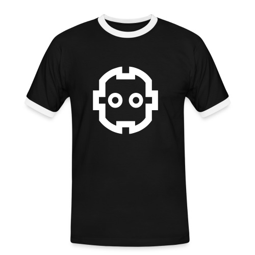 Plugger - Männer Kontrast-T-Shirt