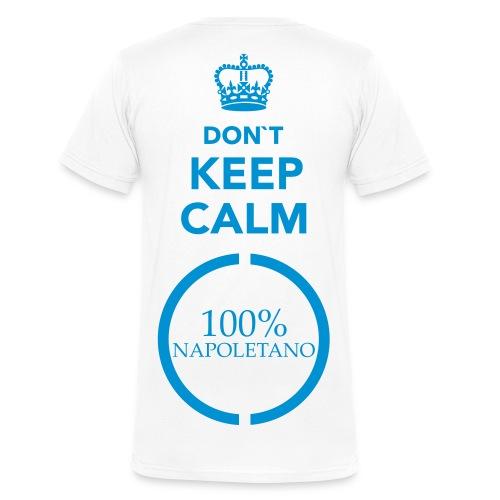 100% Napoletano - Männer Bio-T-Shirt mit V-Ausschnitt von Stanley & Stella