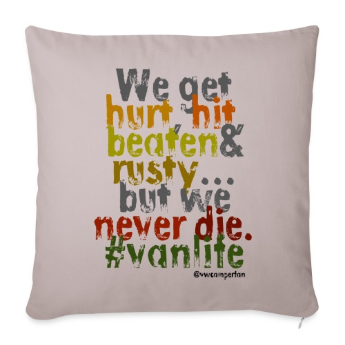 We get hurt - pillow - Sofa pillow cover 44 x 44 cm