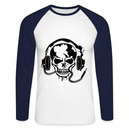 t-shirt music - T-shirt baseball manches longues Homme