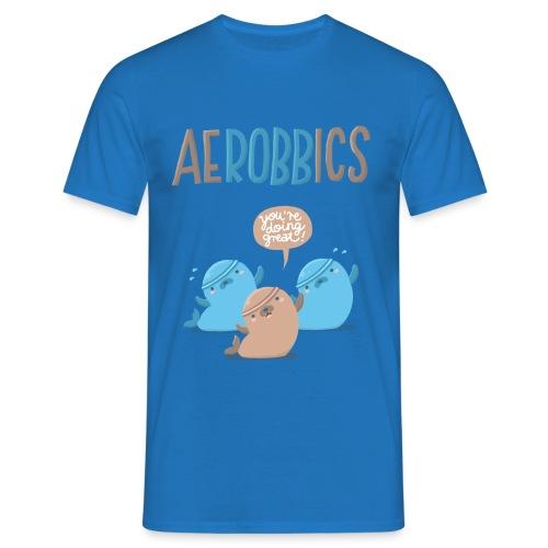 Aerobbics - Männer T-Shirt