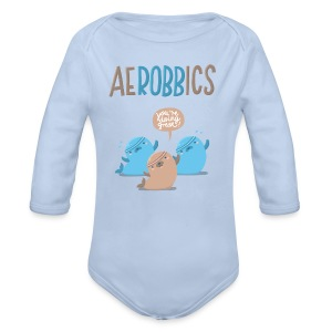 Aerobbics - Baby Bio-Langarm-Body