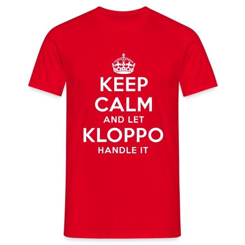 Keep Calm And Let Klopp Handle It - T Shirt - Männer T-Shirt