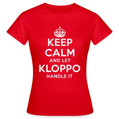 Keep Calm And Let Klopp Handle It - T Shirt - Frauen T-Shirt