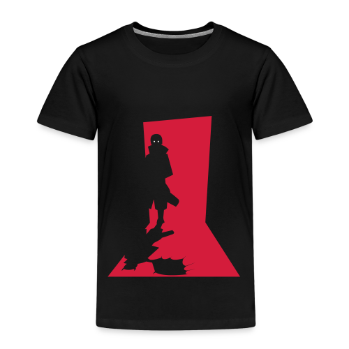 Monster in the Door - Børne premium T-shirt - Børne premium T-shirt