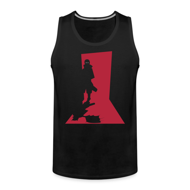 Monster in the Door Herre Premium tanktop