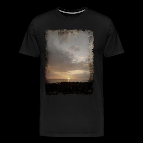 ausgerissen Sonnenuntergang Shirt - Männer Premium T-Shirt
