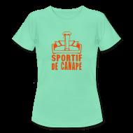 Tee shirts ~ Tee shirt Femme ~ sportif de canapé