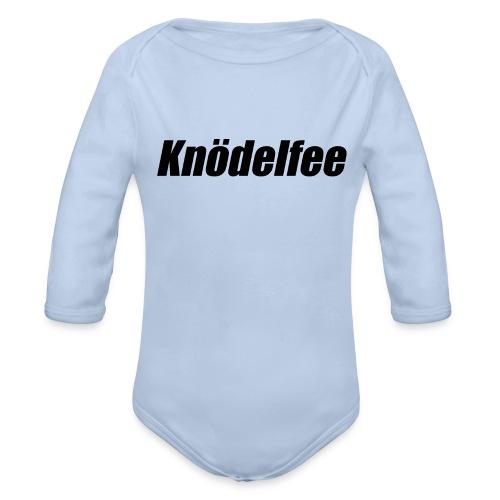 Kleine Knödelfee - Baby Bio-Langarm-Body