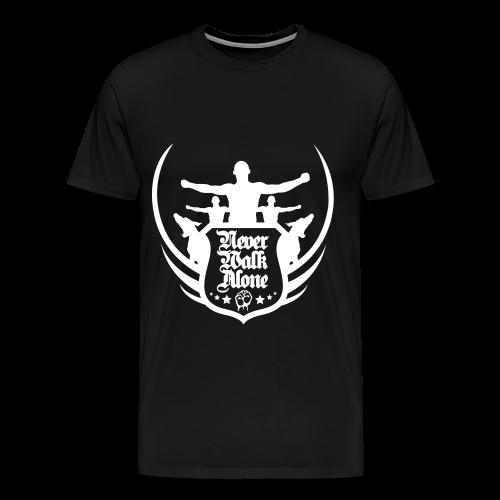 Never Walk Alone Shirt - Männer Premium T-Shirt