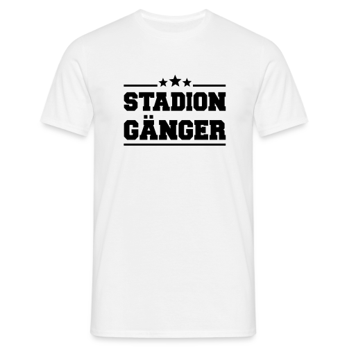 Stadion Gänger Shirt - Männer T-Shirt