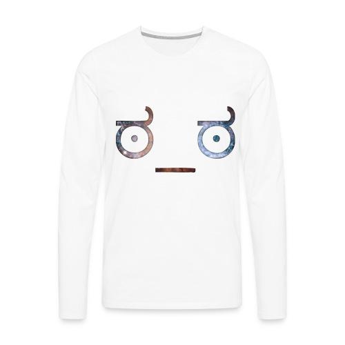 t-shirt emoticon - T-shirt manches longues Premium Homme
