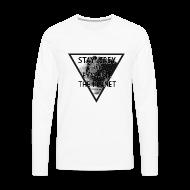 Langarmshirts ~ Männer Premium Langarmshirt ~ StayGreyEvacuate -Sleeve S.