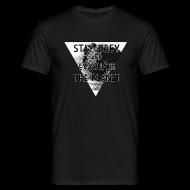 T-Shirts ~ Männer T-Shirt ~ StayGreyEvacuate T.