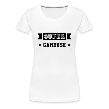 tee shirt gamer gaming gameuse esport jeux vid o tee shirts spreadshirt. Black Bedroom Furniture Sets. Home Design Ideas