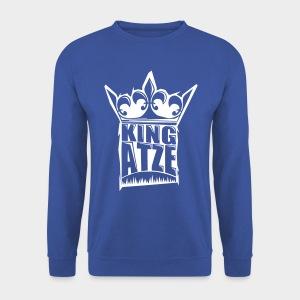KING ATZE ROYAL SWEATER  LOGO WHITE - Männer Pullover